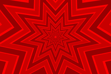 Star red abstract vector pattern Illustration