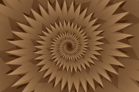 Star brown abstract pattern