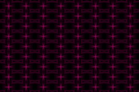 Cross - abstract vector pattern - purple