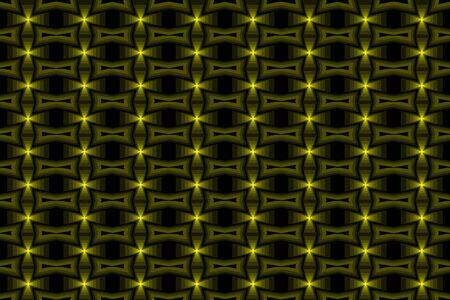Geel kruis abstract vectorpatroon Stock Illustratie