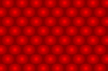 Abstract vector red graphic circular pattern, Abstract background - concentrated circular pattern