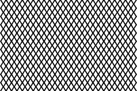Mesh - abstrakte Schwarz-Weiß-Muster - Vektor, abstrakte geometrische Muster mit Linien, Vektor-Illustration von Zaun,