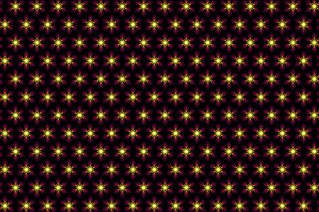 celebrate: Purple snowflake  pattern Illustration
