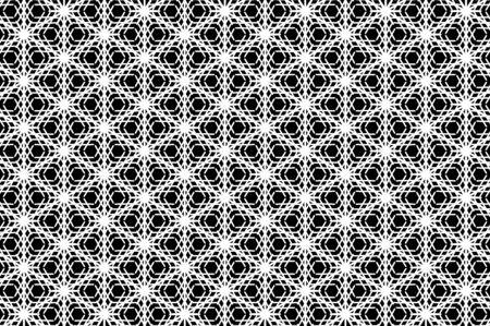celebrate: White snowflake pattern Illustration