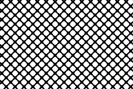 Mesh - abstract black and white pattern - vector, Abstract geometric pattern with lines, Vector illustration of fence.