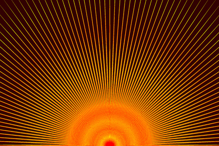 Striped colorful abstract red and orange pattern.