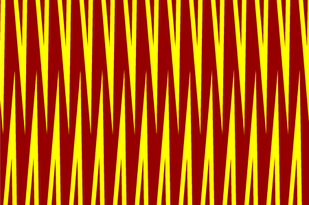 Simple striped background - red and yellow - vector pattern. Illustration