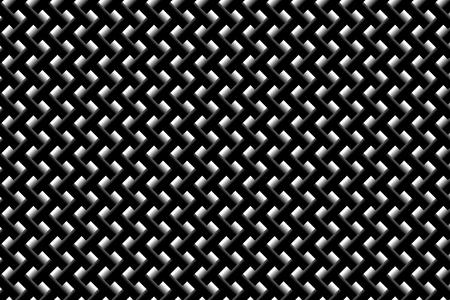 Grid vector pattern - black and white background, Illusztráció