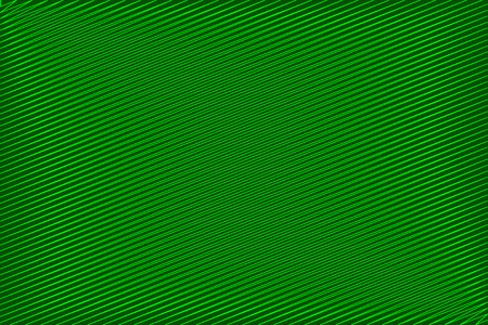 Simple striped background - green - scribble sketch vector pattern Illustration