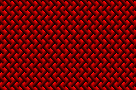 Grid vector pattern - black and red background, Illustration
