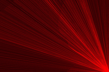 Concentrated spiral of lines pattern, Abstract background. Concentrated striped pattern - red illustration.