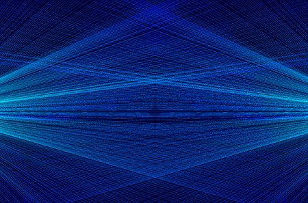 Concentrated spiral of lines pattern, Abstract background - concentrated striped pattern - blue