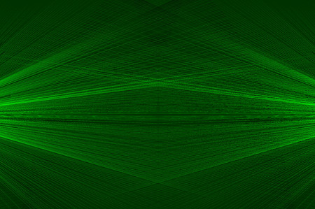 Concentrated spiral of lines pattern, abstract background, concentrated striped pattern, green. Stock Illustratie