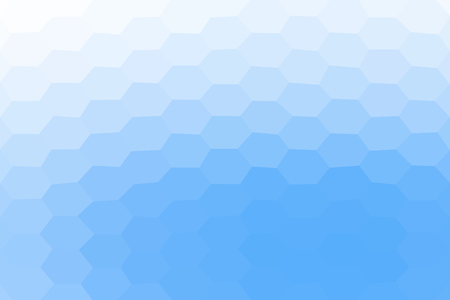 Background with honeycomb pattern, Abstract mosaic background, Polygonal blue and white background