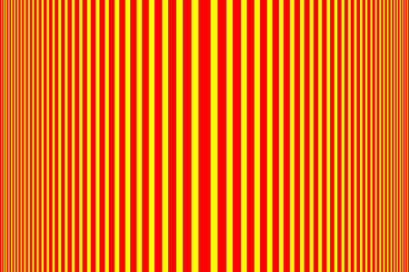 Simple striped background  red and yellow  vertical lines, Red and yellow halftone vertical stripes pattern
