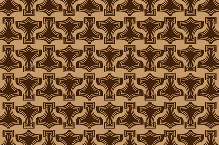 Thor's Hammer - background, Thor Hammer icon brown pattern.
