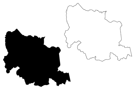 Carabobo State (Bolivarian Republic of Venezuela, States, Federal Dependencies and Capital District) map vector illustration, scribble sketch Carabobo map 写真素材 - 119162321