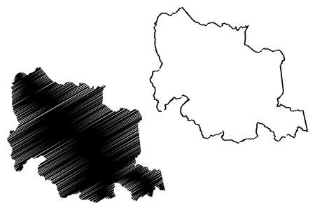 Carabobo State (Bolivarian Republic of Venezuela, States, Federal Dependencies and Capital District) map vector illustration, scribble sketch Carabobo map 写真素材 - 123885716