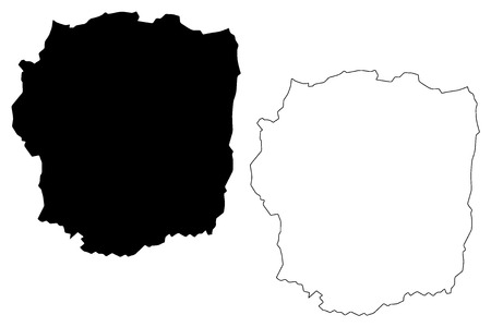 Antananarivo Province (Provinces of Madagascar, Republic of Madagascar) map vector illustration, scribble sketch Antananarivo map