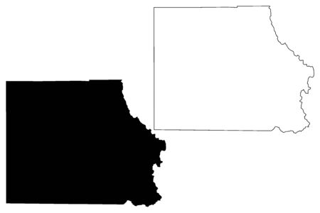 Eagle County, Colorado (U.S. county, United States of America,USA, U.S., US) map vector illustration, scribble sketch Eagle map