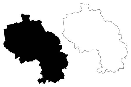 Aizpute Municipality (Republic of Latvia, Administrative divisions of Latvia, Municipalities and their territorial units) map vector illustration, scribble sketch Aizpute map