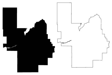 Power County, Idaho (U.S. county, United States of America, USA, U.S., US) map vector illustration, scribble sketch Power map