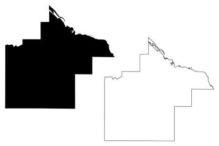 Goodhue County, Minnesota (US county, United States of America, USA, US, US) map vector illustration, scribble sketch Goodhue map