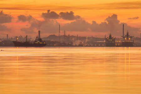 caribbean cruise: Havana port at sunrise with motion water, Cuba