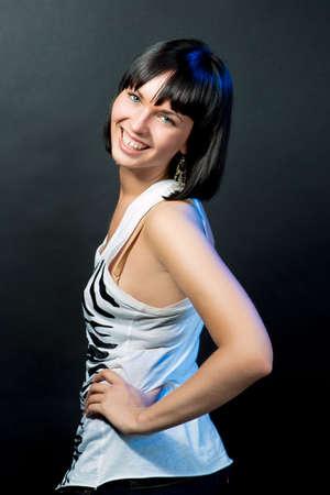 sincere: sincere smile Stock Photo