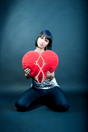 separated heart  photo