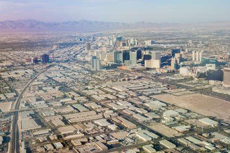 Suburbans of Las Vegas  Aerial View  Nevada, United States