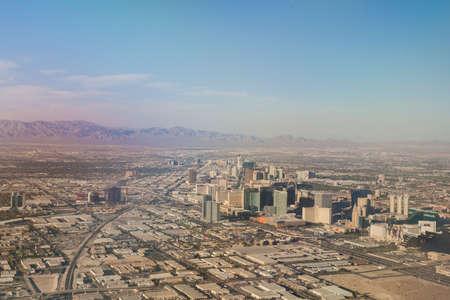 Suburbans of Las Vegas  Aerial View  Nevada, United States photo
