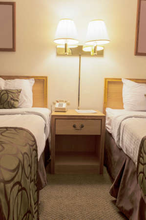 hotel suite: Hotel Room Suite Interior. Vertical Image Composition