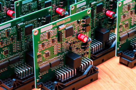 Batch of Ready to Use Printed Circuit Boards with Surface Mounted Components