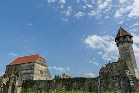 cistercian: Ruins of medieval cistercian abbey in Transylvania, founded in 1202