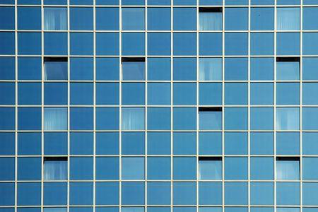 Moderne B�rogeb�ude - Glasfassade Fragment