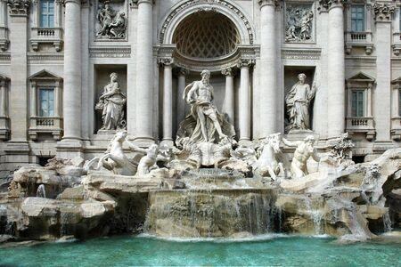 Trevi Fountain in Rome (Italy)