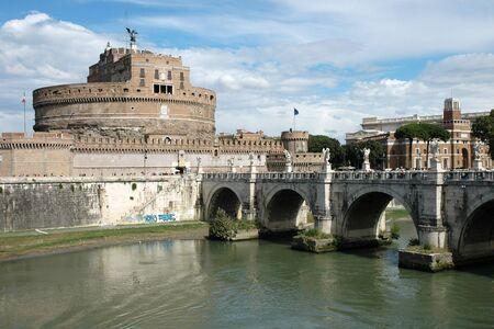 Engelsburg in Rom (Italien) Lizenzfreie Bilder