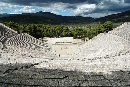 Amphitheater Epidaurus (Griechenland)