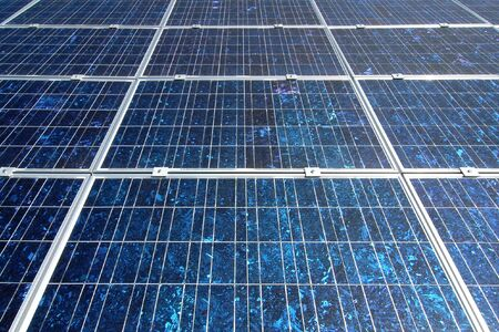 Photovoltaic cells in a solar panel  Stock Photo - 3357551