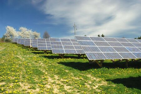 Solar power plant Stock Photo - 3357513