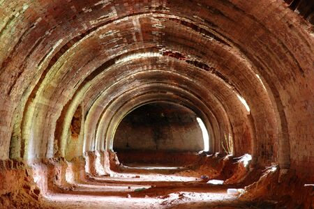 brick kiln: old brick kiln