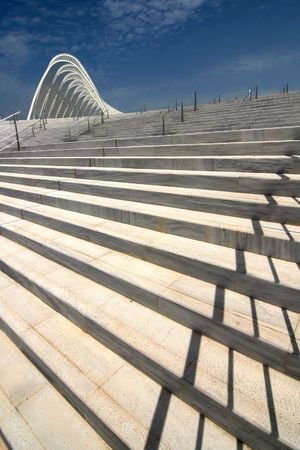 Olympic complex in Athens - a part with stairs