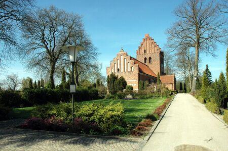 jutland: A church in Copenhagen (Denmark) Stock Photo