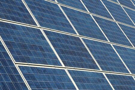 Photovoltaic cells in a solar panel Stock Photo - 3673689
