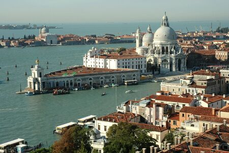 Cathedral Santa Maria della Salute in Venice (Italy)