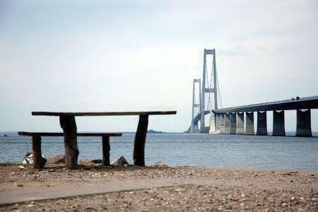 jutland: Bridge between Jutland and Fyn (Denmark)