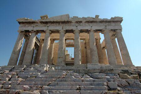 Parthenon - Acropolis (Athens, Greece) Stock Photo