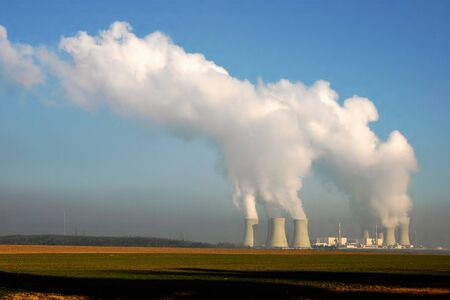 Nuclear power plant in Dukovany (Czech Republic) photo