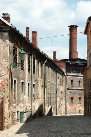Alte Brauerei in Broumov (Tschechische Republik) Lizenzfreie Bilder